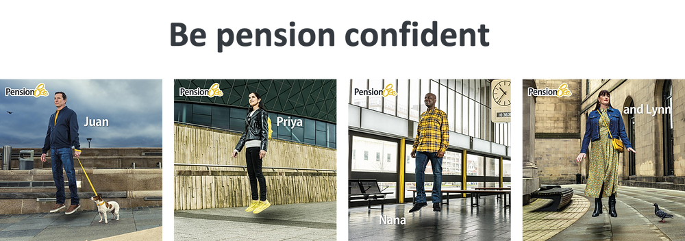 PensionBee brand campaign