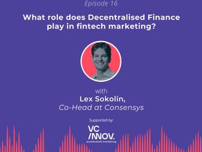 Market like a fintech: The role of Decentralised Finance in fintech marketing with Lex Sokolin
