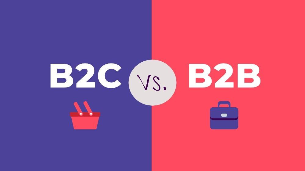 B2C Vs B2B fintech marketing