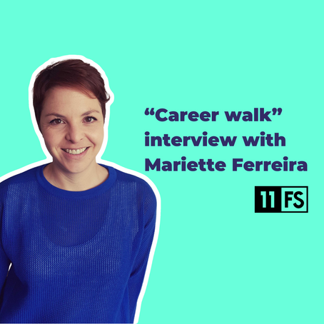 """Career walk"" with Mariette Ferreira of 11:FS: The value of brand"