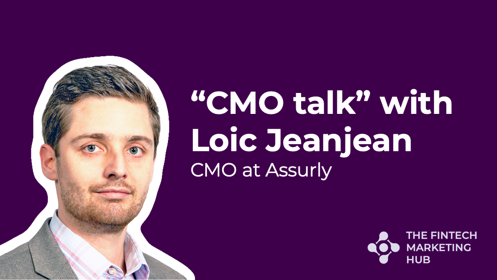 CMO talk with Loic Jeanjean of Assurly banner