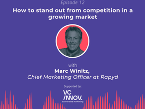 Market like a fintech: 'How to stand out from competition in a growing market' with Marc Winitz