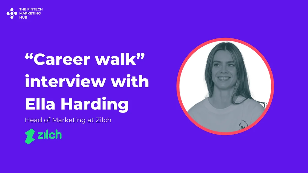 Career walk interview with Ella Harding of Zilch