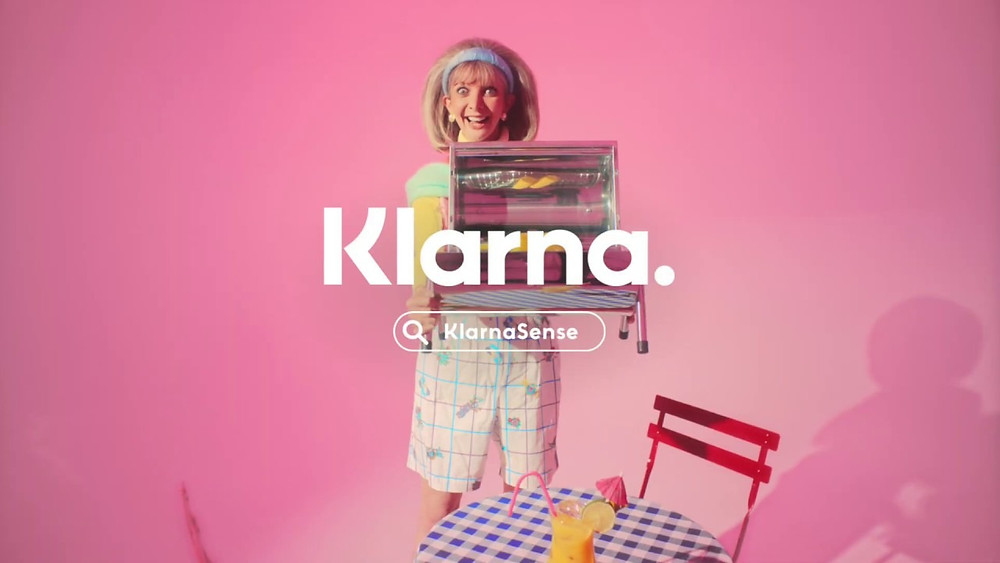 Klarna's latest brand campaign KlarnaSense