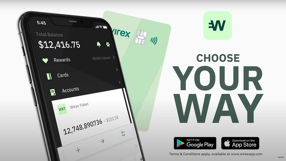 Wirex new brand campaign