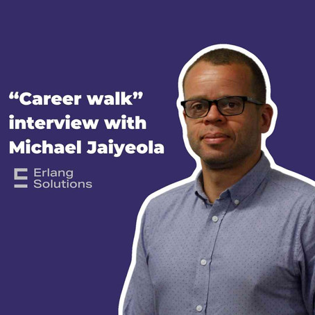 """Career walk"" interview with Michael Jaiyeola of Erlang: Fintech Marketing post 2008"