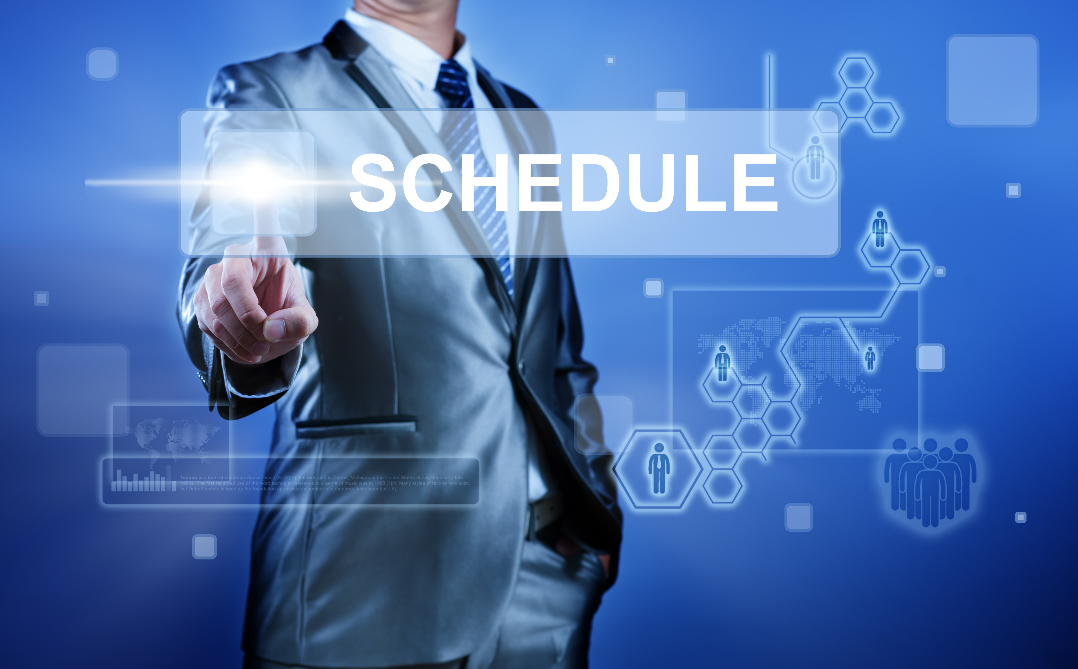 Schedule a conference call