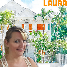 A picture of our Assistant Innkeeper at Marrero's, Laura