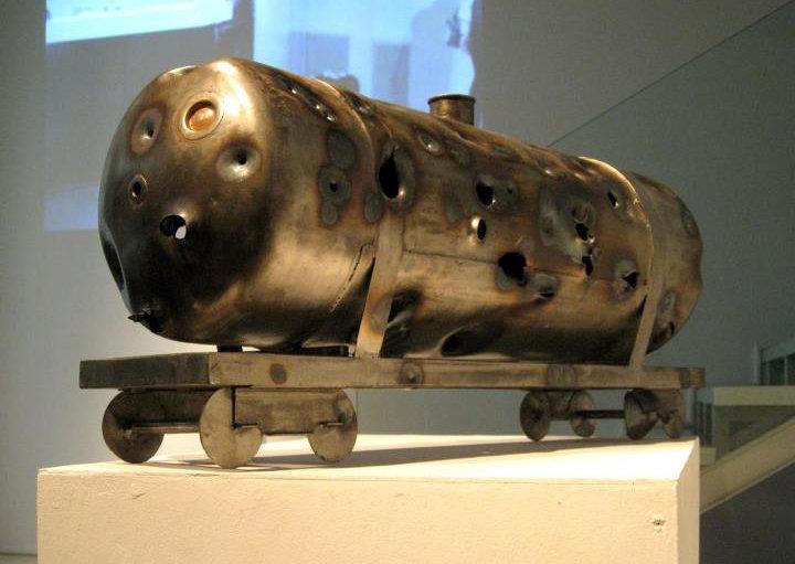 """""""Oil"""". Art object. Shot cistern"""