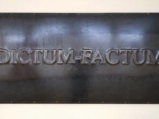 Dictum – Factum