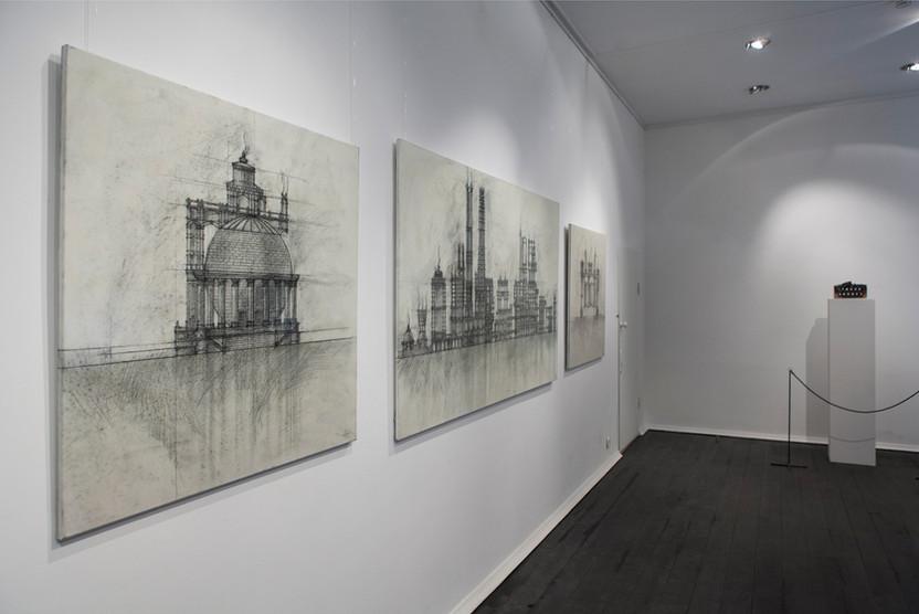 """Temple of fire"" art exhibition. Contemporary art, Russia"