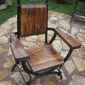 Кресло кованое для улицы
