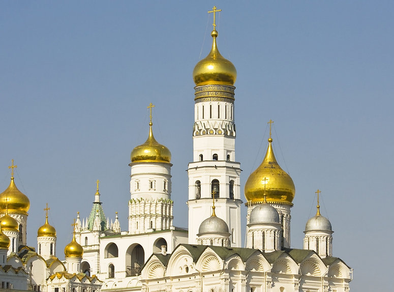 Сусальное золото на куполах