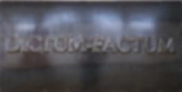 Dictum – Factum. Contemporary art