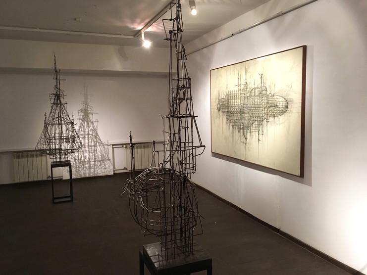 """Exposition. """"The Salt"""", Anton Chumak"""