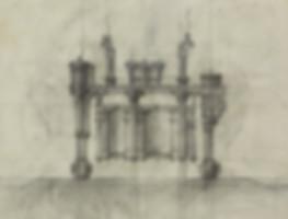 Графика на холсте. Проект «Храм Огня»