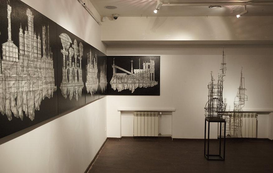 "Art exhibition ""The Salt"", MMOMA, 2017"