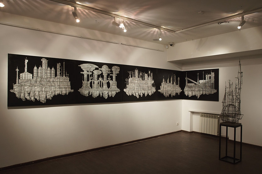 """""""The Salt"""" project, exposition. Moscow museum of modern art"""