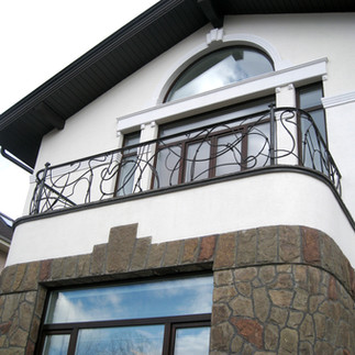 Ограждение балкона, металл