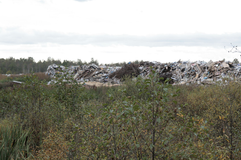 Gaitolovo, Leningrad region, the landfill