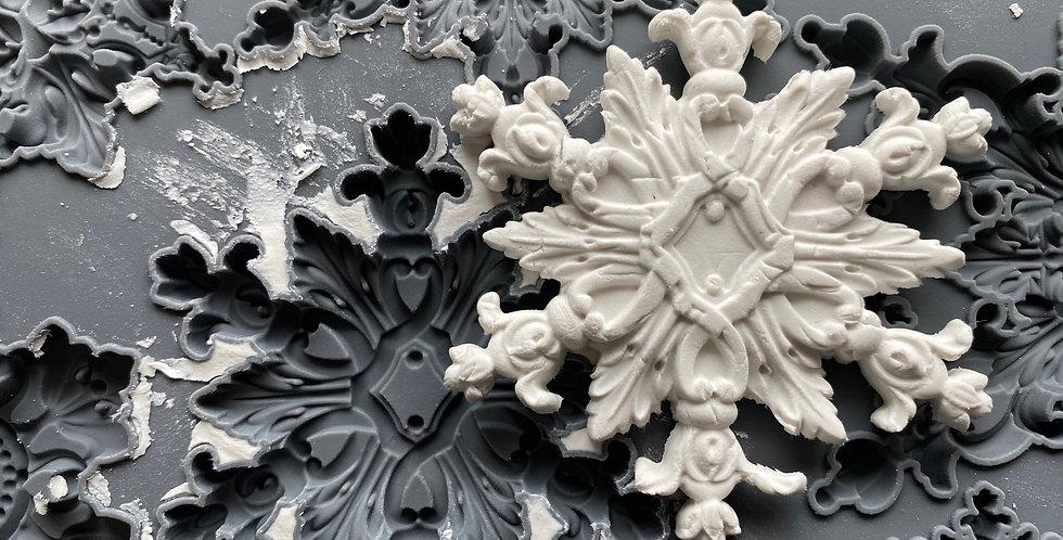 Snowflakes Decor Moulds (6x10)