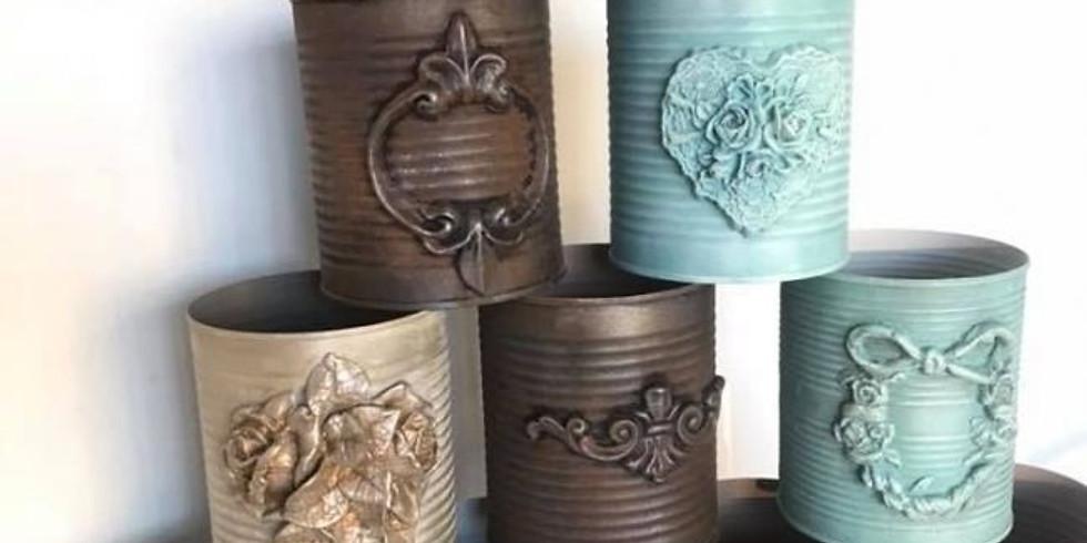 JUNKCHIQUE Repurposed Tin Cans Workshop