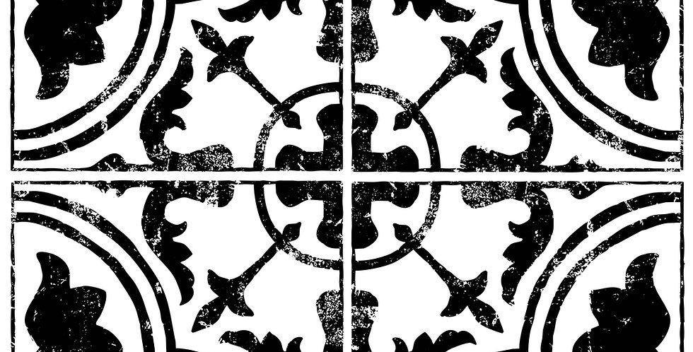 Cubano Field Tile Decor Stamp (12x12)