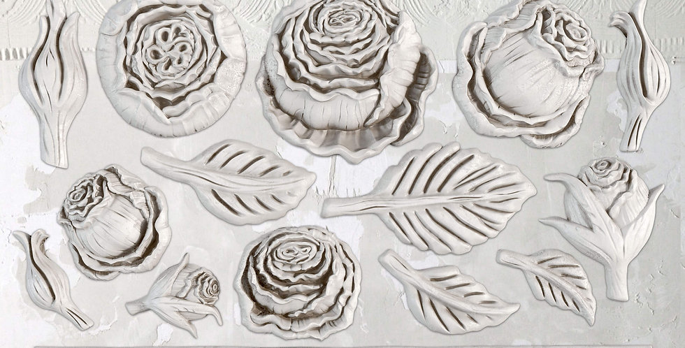 Heirloom Roses Decor Moulds (6x10)