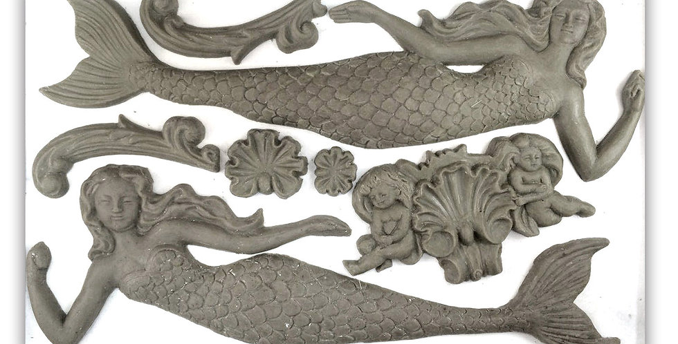 Sea Sisters Decor Moulds (6x10)