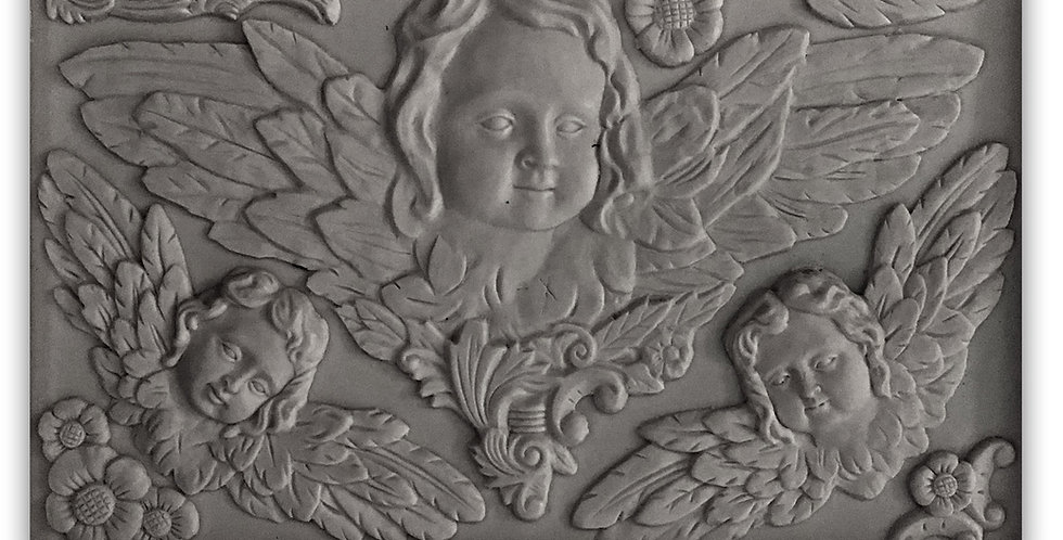 Classical Cherubs Decor Mould (6x10)