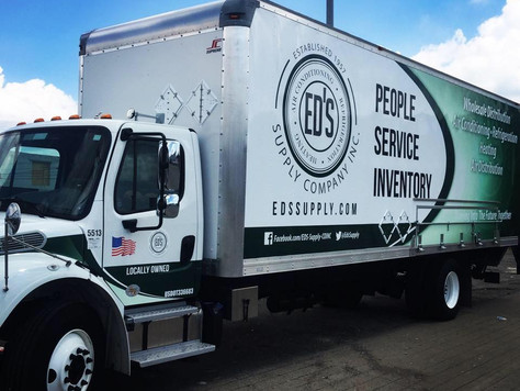 New Look for Ed's Supply Trucks