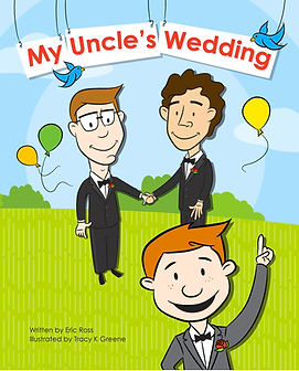 Gay children's book about same-sex marriage gay picture book about marriage equality gay parenting LGBT parenting