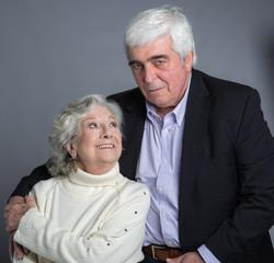 Eunice Muñoz e Luis Miguel Cintra