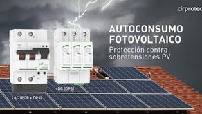 Autoconsumo fotovoltaico, protégelo contra sobretensiones. ¿Te contamos cómo?