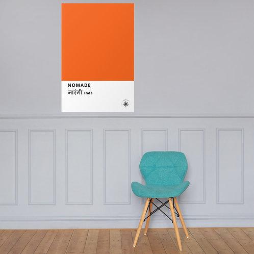 Affiche Orange