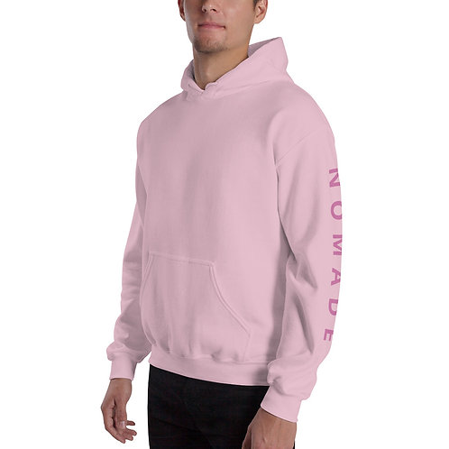 Sweat à capuche Logo rose R