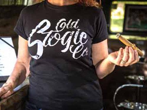 Ladies Old Stogie T-Shirt - White Print