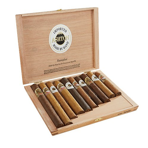 Ashton 10-Cigar Sampler Box