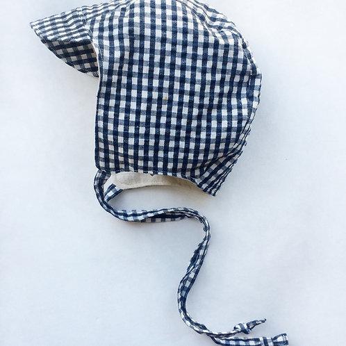 Bonnet - Organic Cotton Seersucker