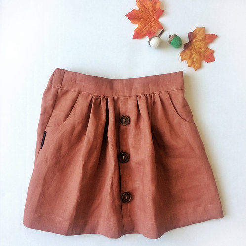 Summer Skirt - Red Clay
