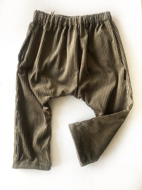 Corduroy Harem Pants