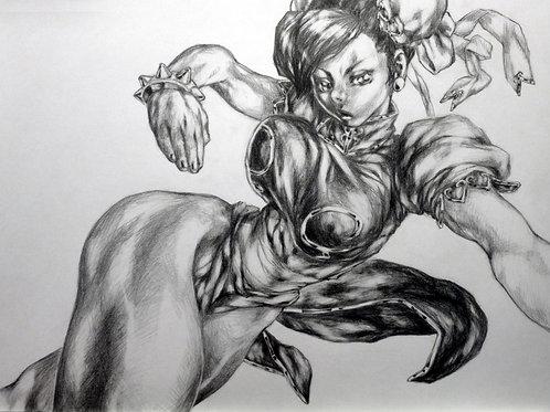 Chun Li graphite