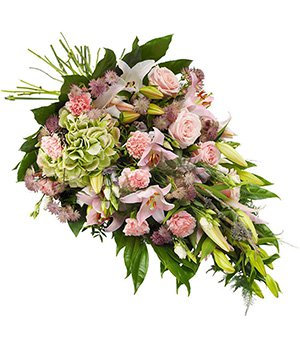 Mixed flower tied sheaf