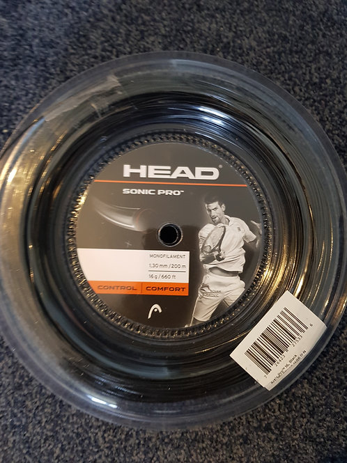 Restring with Head sonic pro