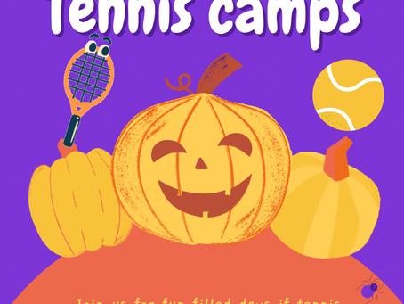 October Half Term Tennis Camps