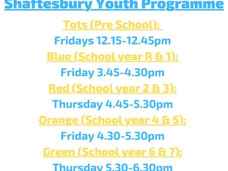 Shaftesbury programme