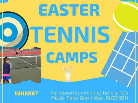 Easter Tennis success!