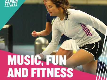 4 Reasons why Cardio Tennis is great!