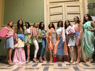 International fashion week of Reggio di Calabria. Models: Maria Vittoria Riso, Myriam Melluso, Francesca Gangeri, Diana Vararu, Asia Gentile, Marisa Abramo, Lucia Moscato, Sara surace, Monica De Giglio, Paola Neri.