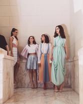 Model: Paola Neri, Lucia Moscato, Sara Surace, Monica De Giglio.